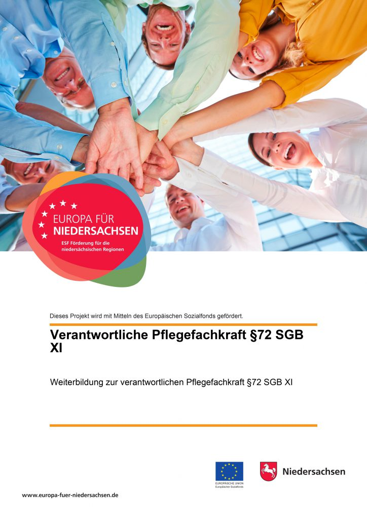 Plakat der Förderung Europa für Niedersachsen