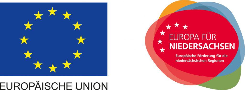 Label der Förderung Europa für Niedersachsen